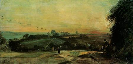 John Constable - Herbstlicher Sonnentag