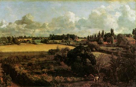John Constable - Constables Gemüsegarten