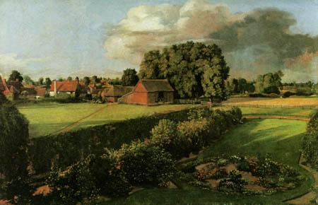 John Constable - The Garden of Constable