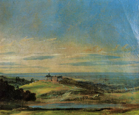 John Constable - Landscape near Hampstead