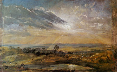John Constable - Branch Hill Pond, Hampstead