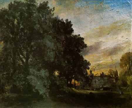 John Constable - Abendstimmung