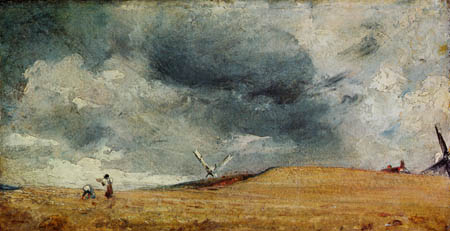 John Constable - The collectors near Brighton