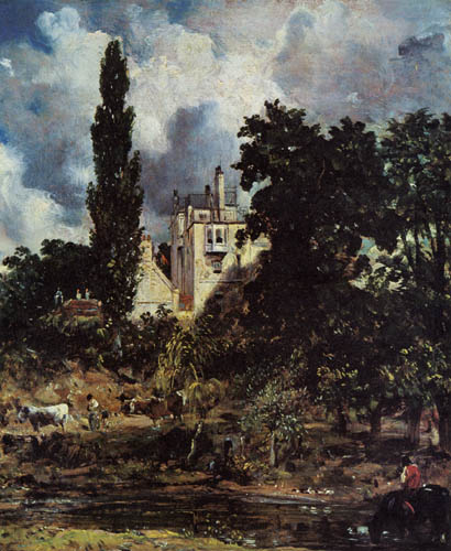 John Constable - The house of the admiral