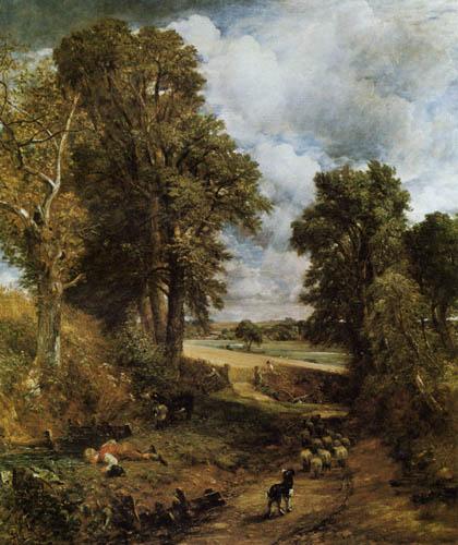 John Constable - Das Kornfeld