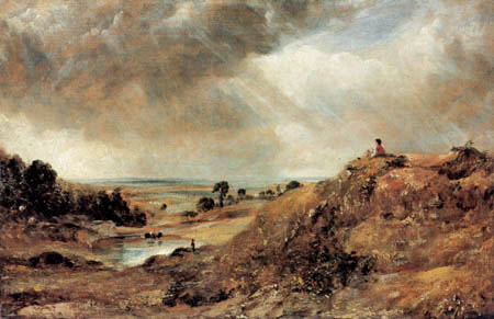 John Constable - Rast auf dem Hügel