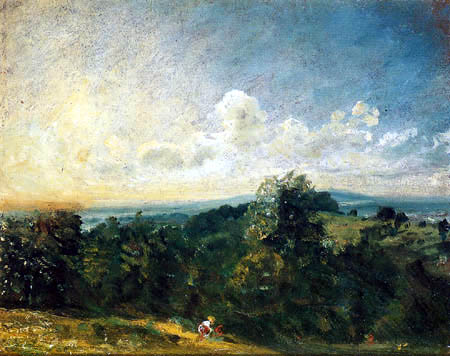 John Constable - Hampstead Heath