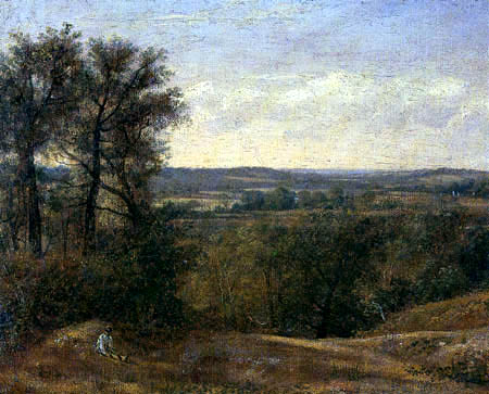 John Constable - Dedham Vale