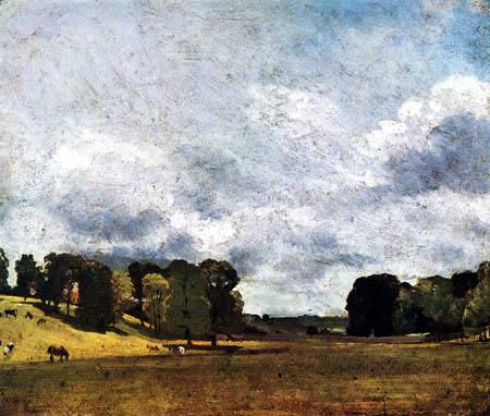 John Constable - Landschaft bei Epsom