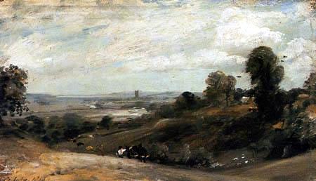 John Constable - Dedham from Langham