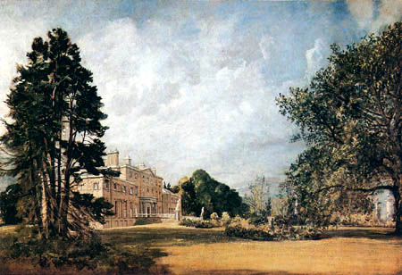 John Constable - Malvern Hall