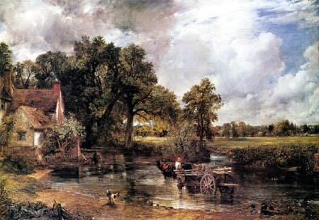John Constable - El carro de heno