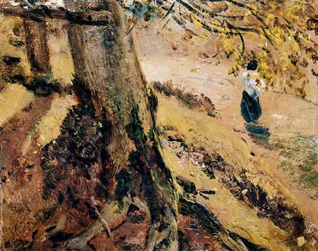 John Constable - Baumwurzelstudie