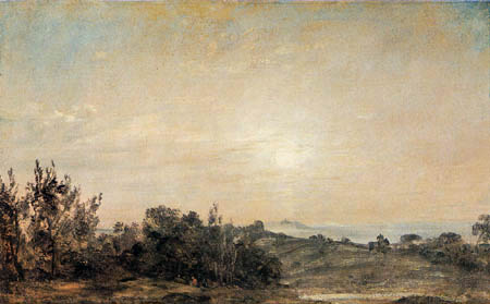 John Constable - Hampstead Heath