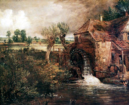 John Constable - Parham´s Mühle, Gillingham