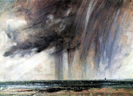 John Constable - Regenwolken vor Brighton