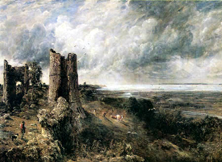 John Constable - Hadleigh Castle und Themsemündung