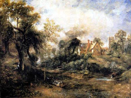 John Constable - The Glebe Farm