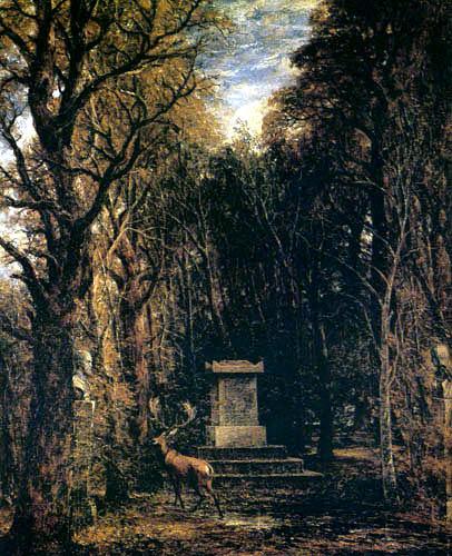 John Constable - Remembrance to Sir Joshua Reynolds