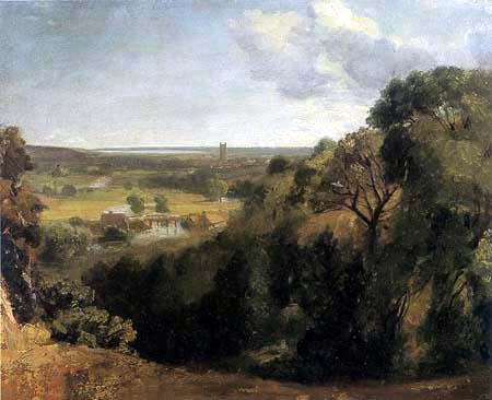 John Constable - Dedhame Vale