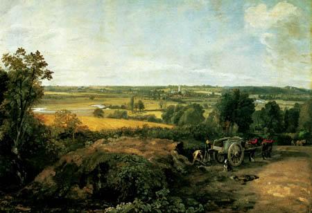 John Constable - Stour-Tal und das Dorf Dedham