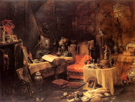 Edward William Cooke - The Antiquary´s Cell
