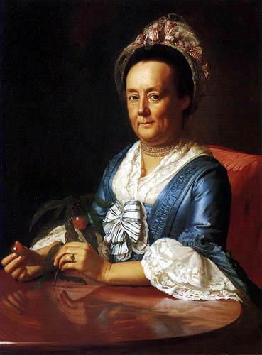 John Singleton Copley - Mrs. John Winthrop