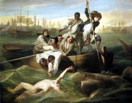 John Singleton Copley - Brook Watson and a shark
