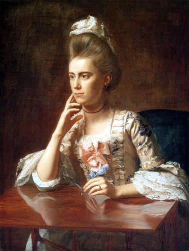 John Singleton Copley - Mrs. Richard Skinner