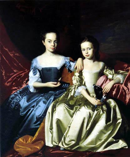 John Singleton Copley - Mary and Elizabeth Royall