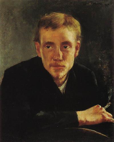 Lovis Corinth - The Painter  Eugene Gorge