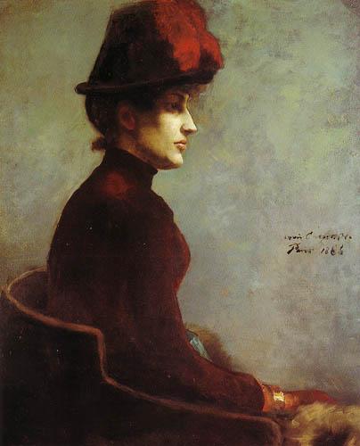 Lovis Corinth - Portrait of a Lady