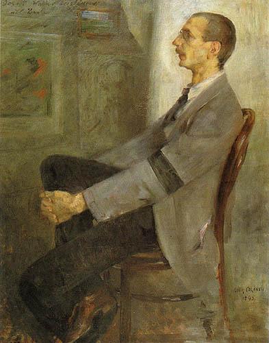 Lovis Corinth - The Painter Walter Leistikov
