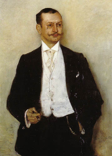 Lovis Corinth - The Painter Karl Strathmann