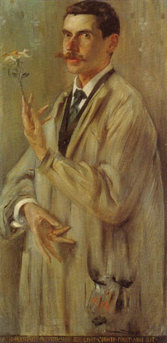 Lovis Corinth - The Painter Otto Eckmann