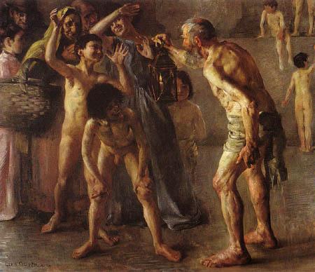 Lovis Corinth - Diogenes