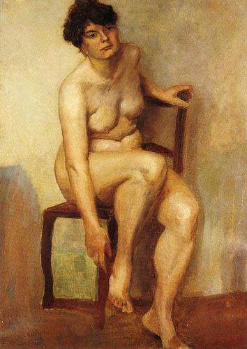 Lovis Corinth - Frauenakt