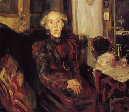 Lovis Corinth - Mother Rosenhagen