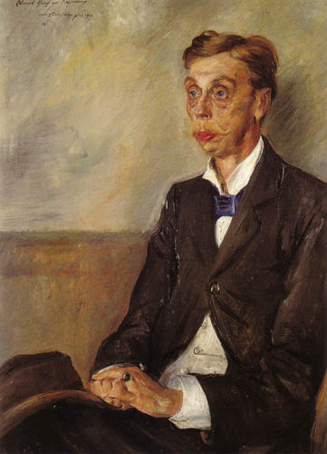 Lovis Corinth - Eduard Earl of Keyserling