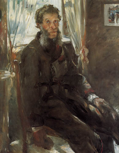 Lovis Corinth - Portrait of Friedrich Corinth