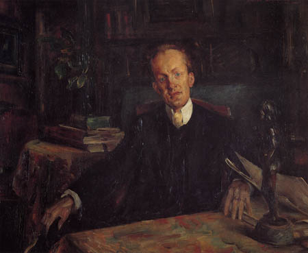 Lovis Corinth - The Poet Gerhart Hauptmann