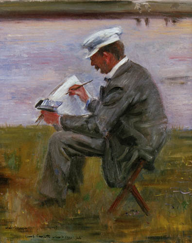 Lovis Corinth - The Painter Walter Leistikov
