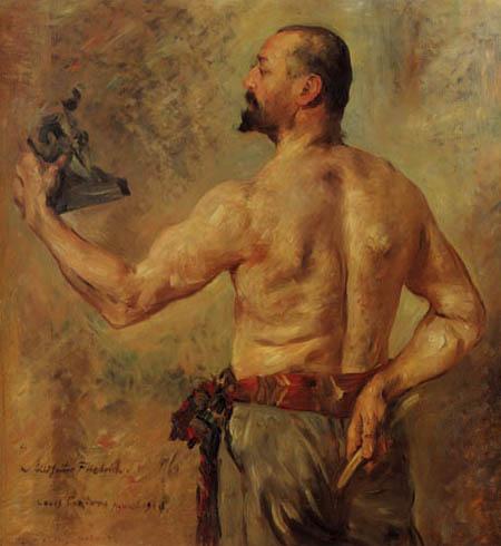 Lovis Corinth - The Sculptor Friedrich