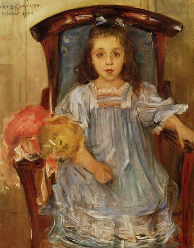 Lovis Corinth - Portrait of Sophie Cassirer