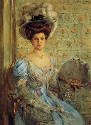Lovis Corinth - Portrait of Countess Finkh