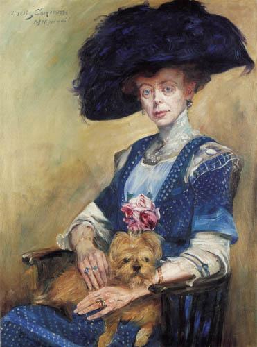 Lovis Corinth - Mrs. Luther