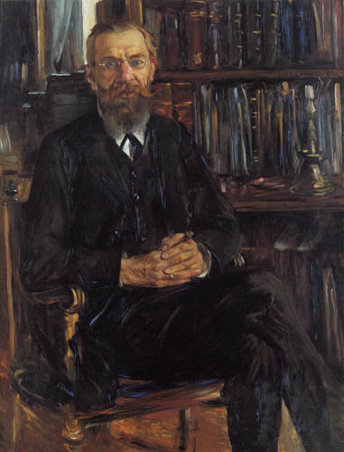 Lovis Corinth - Portrait of Eduard Meyer