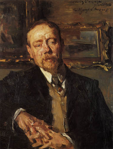 Lovis Corinth - The Painter  Eugene Gorge