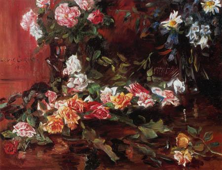 Lovis Corinth - Roses