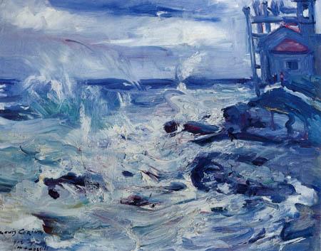 Lovis Corinth - Storm, Cap Ampeglio